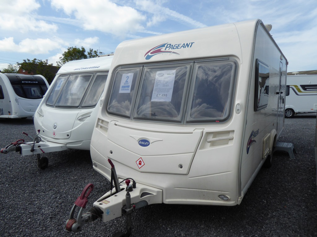 2008 Bailey Pageant Monarch S6 Used Carvans Highbridge