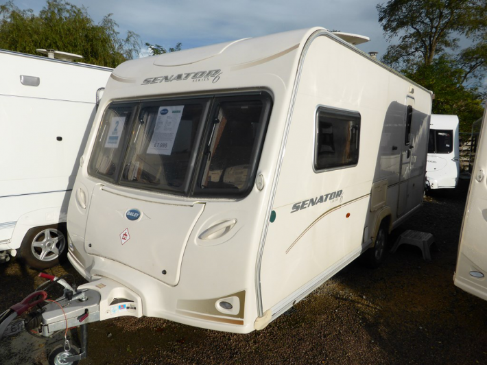 Popular 2008 Bailey Senator Vermont | Used Carvans | Highbridge Caravan Centre Ltd.