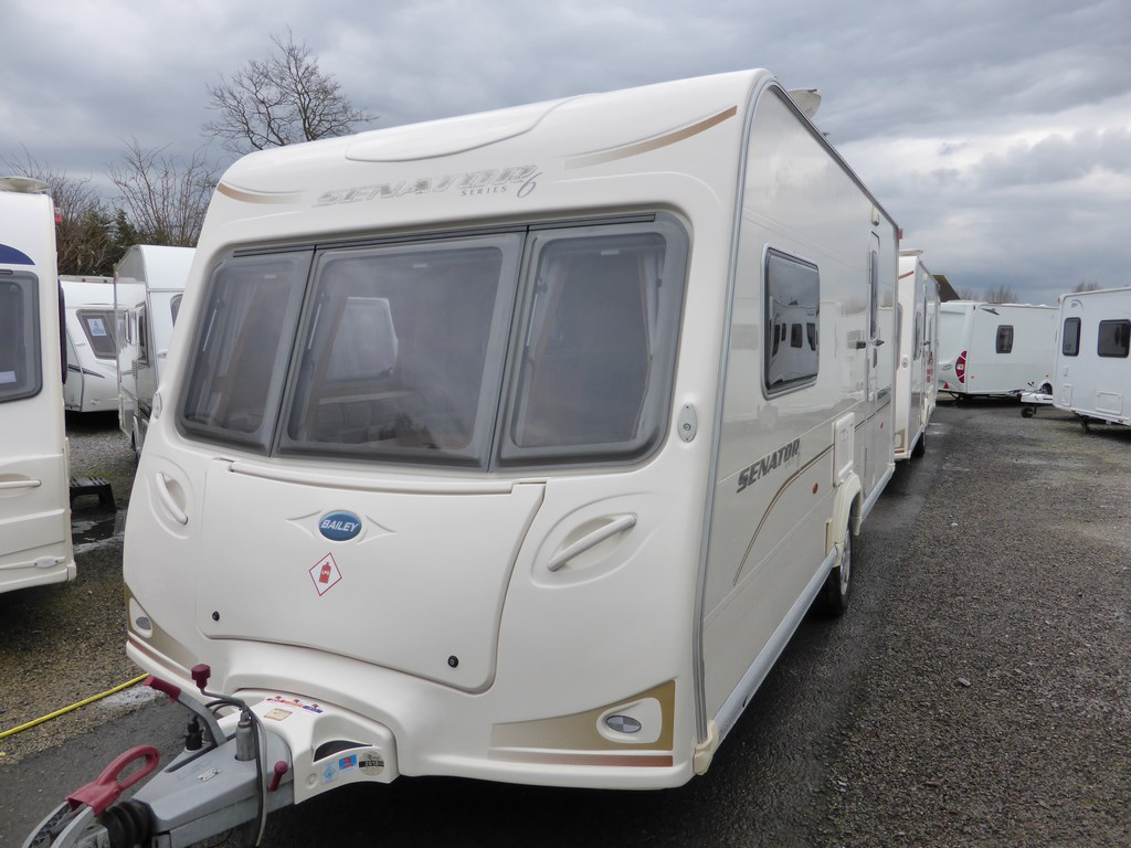Excellent 2008 Bailey Senator Vermont | Used Carvans | Highbridge Caravan Centre Ltd.