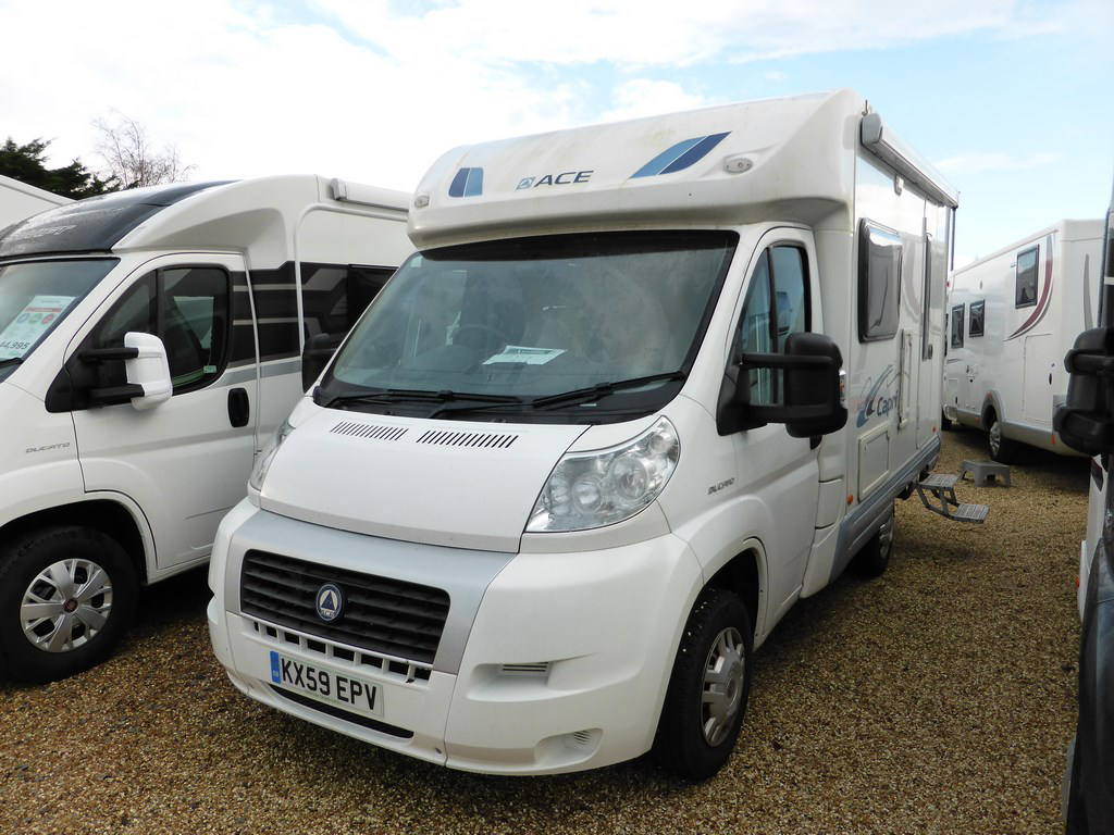 2009 ace capri used motorhomes highbridge caravan