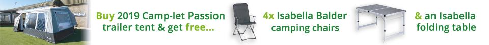 Camp-let Furniture Offer