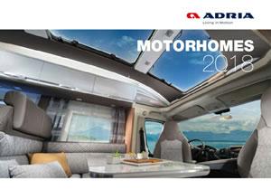 2018 Adria Motorhomes