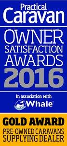 Practical Caravan New Caravans: Supplying Dealer Silver Award 2016